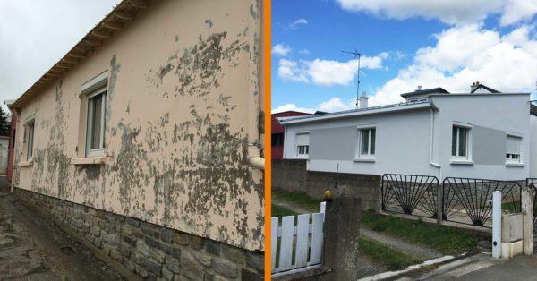Avant-Après maison