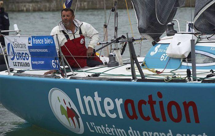 Suivez jour par jour l'aventure de notre skipper Yannig Livory