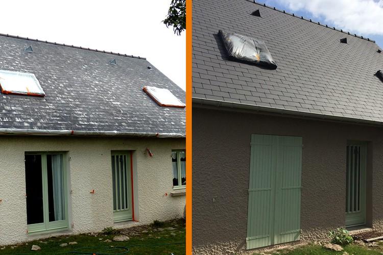 Une meilleure isolation pour votre toit thermacote for Meilleure exposition pour une maison